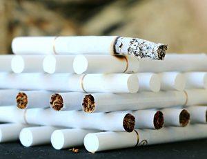 Zyprexa- tobacco